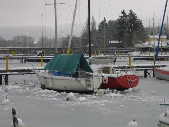 Dans la glace