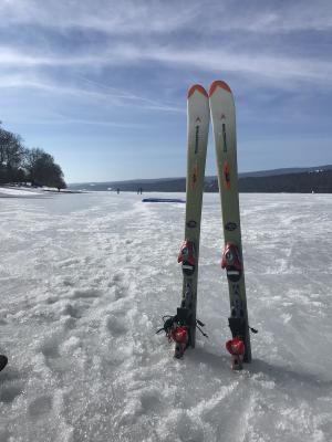 La glisse en hiver
