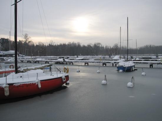 Port gelé
