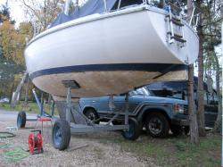 Fin grattage bâbord