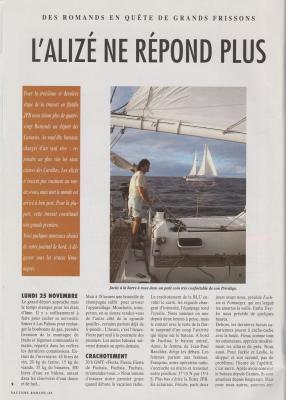 Nautisme romand avril 1992