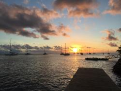 Polynesie - arrivée Huahine